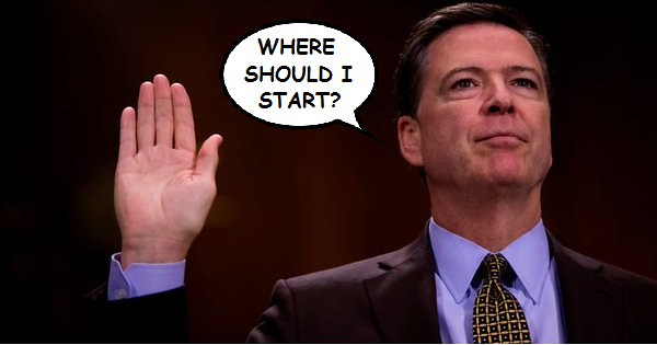 Comey to Testify on June 8th