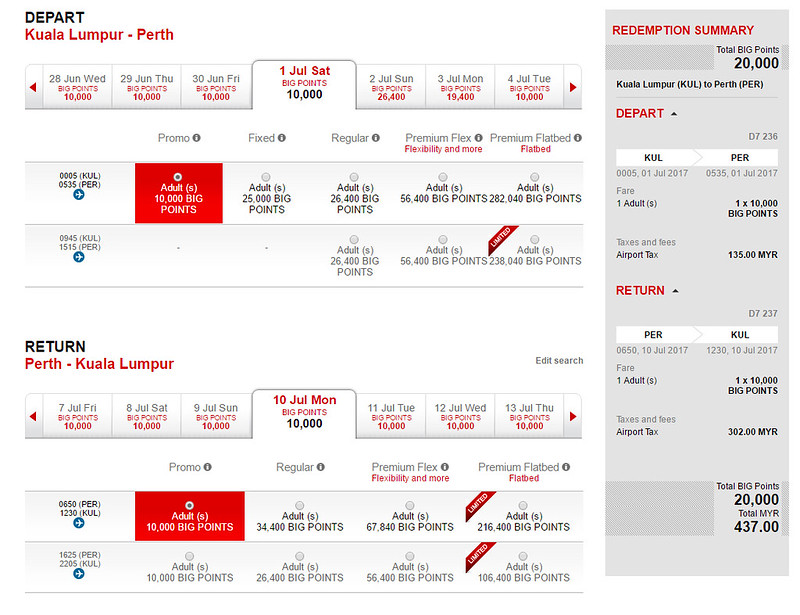 airasia big kl perth