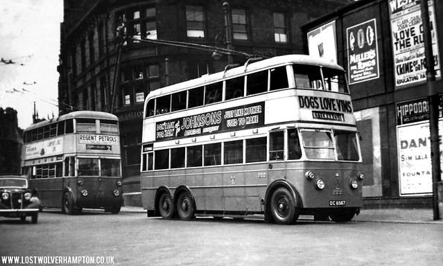Lost Wolverhampton Local History & Nostalgia - VICTORIA-SQUARE-1937