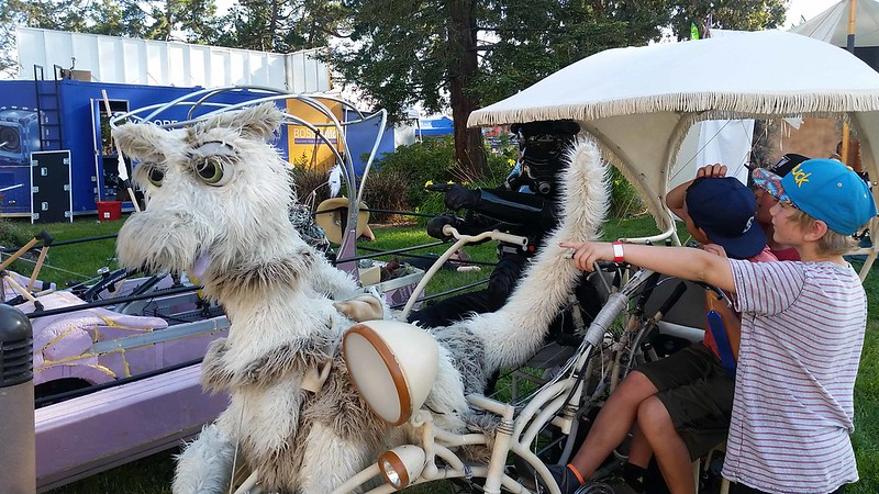 TIE Pilot Muppet Chariot