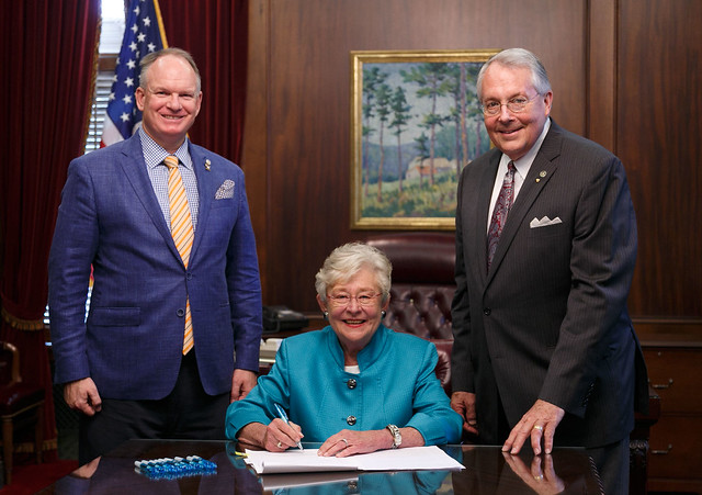 Governor Ivey signs SB108