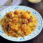 Aloo Dum Biryani Recipe - Baby Potato Biryani Recipe