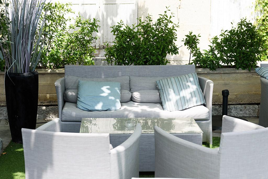 Hôtel LE GOLFE Cassis - terrasse ombragée | Hotel LEGOLFE | Flickr