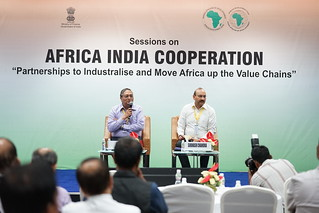 Interaction on Central & Southern Africa-India Mining Cooperation, AM 2017