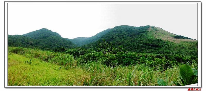草原坡展望紅頭山稜