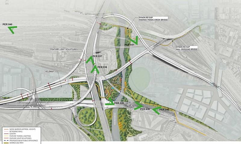 Westgate Tunnel EES: eGate spaghetti interchange