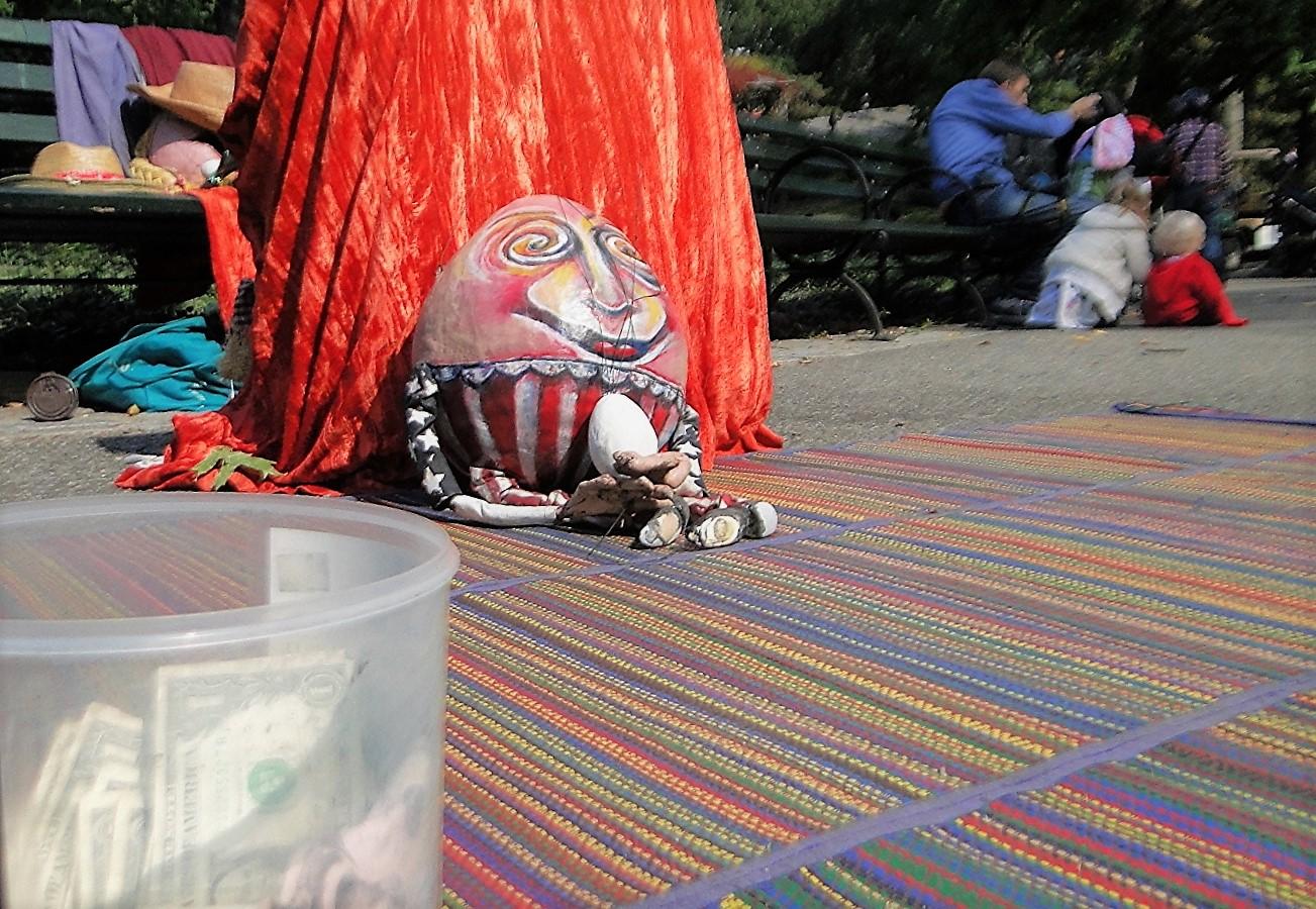 Humpty Dumpty had a great fall, Central Park, NY