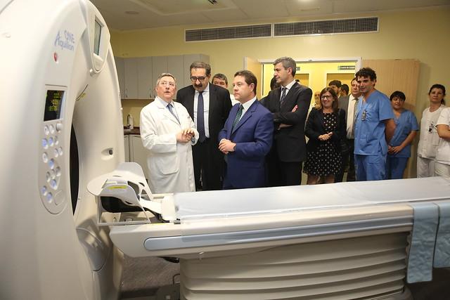 TAC helicoidal multidetector del Hospital Virgen de la Salud de Toledo