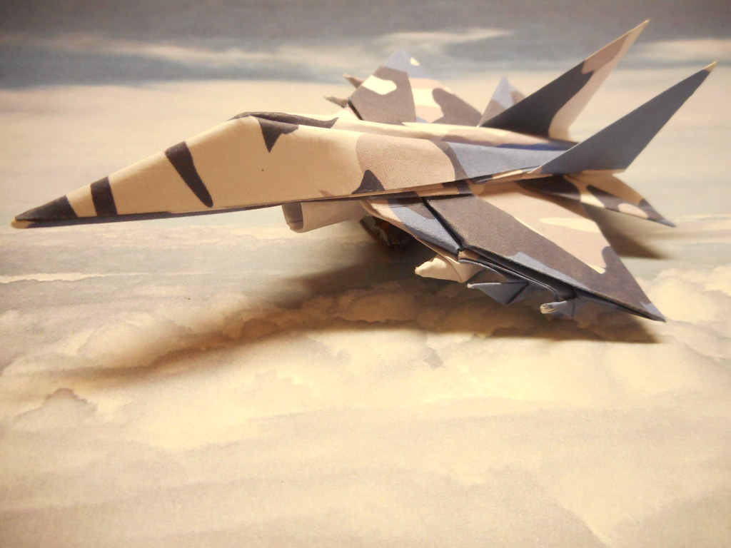 Falcon Origami Fighter Jet