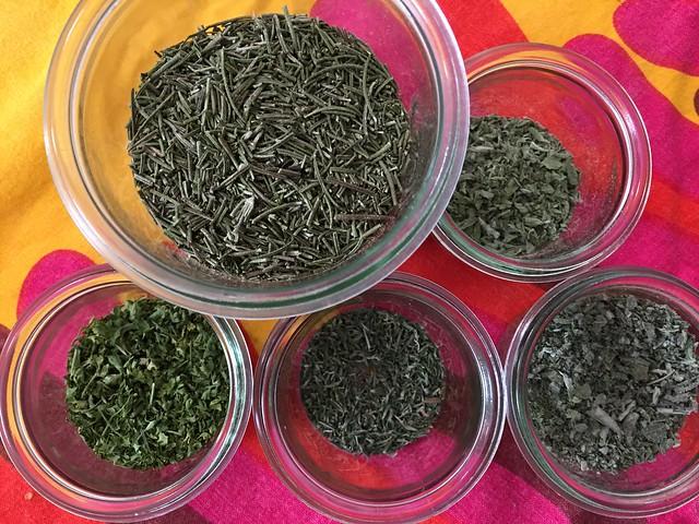 Homemade herbs