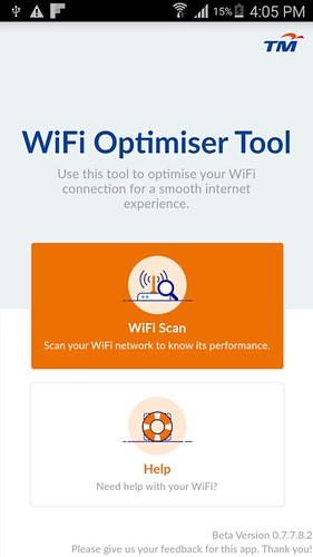 Optimise Streamyx and Unifi with TM Wifi Optimiser Tool