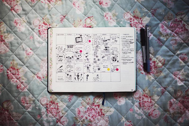 março, agenda
