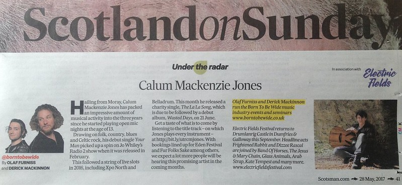 Scotland On Sunday, 28 May 2017, Calum Mackenzie Jones