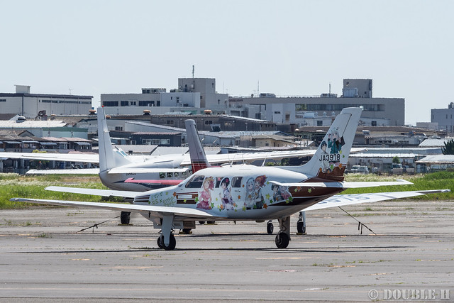 痛飛行機 - Anime wrapping airplane in RJOY 2017.6.4 (34)