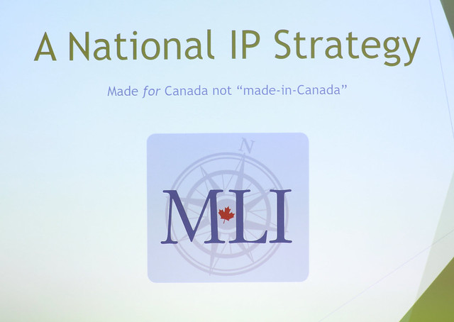 An Intellectual Property Strategy For Canada