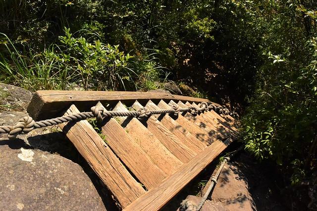 開聞岳 山頂手前の階段