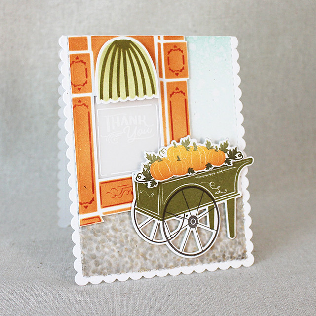 Autumn Market Thank You Card