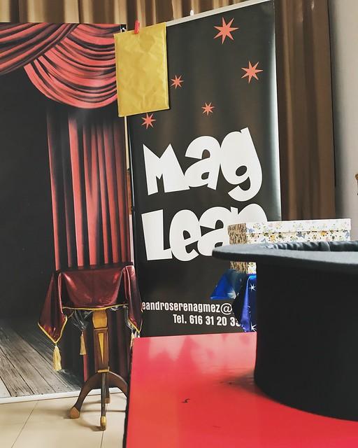 Actuación del mago Mag Lean
