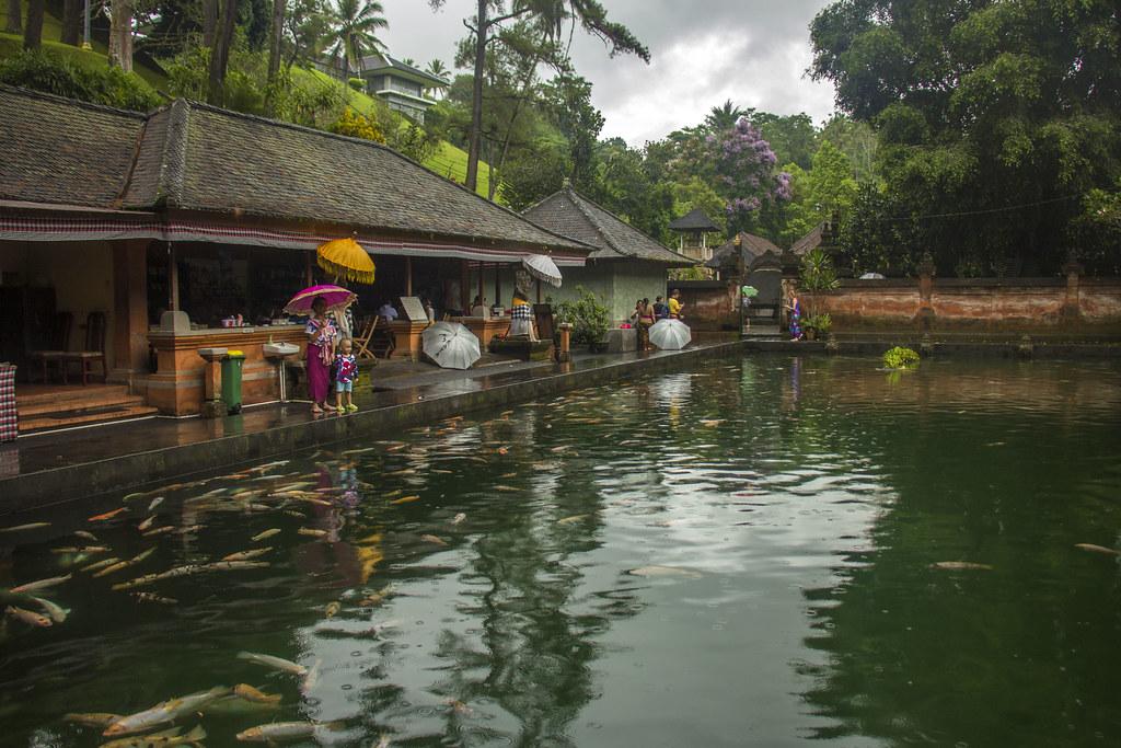 templer på Bali