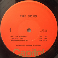 THE SONS:THE SONS(LABEL SIDE-A)