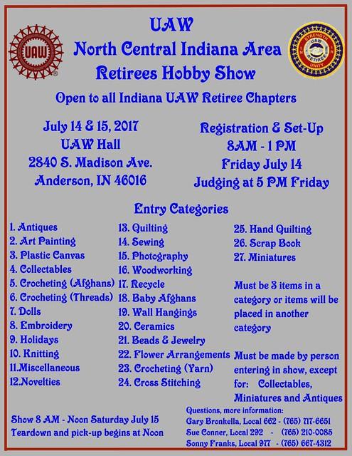 Hobby Show Flyer 2017
