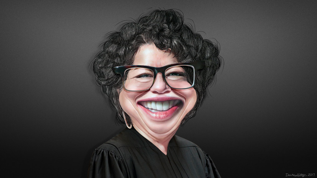 United States Supreme >> Sonia Sotomayor - Caricature | Sonia Maria Sotomayor, aka So… | Flickr