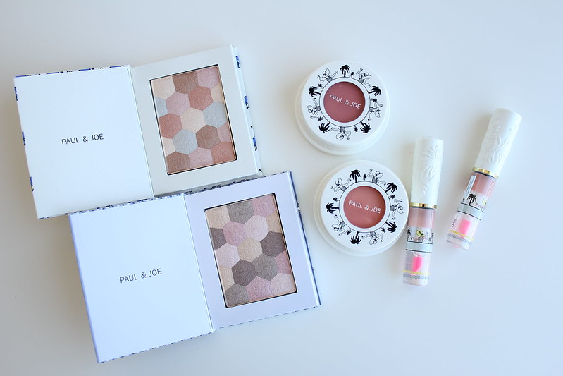 Paul & Joe Summer 2017 Eye Color Limited, Gel Blush and Tinted Lip Gloss review