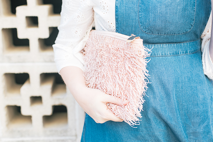 austin style blogger writes like a girl pastel and denim dress outfit6