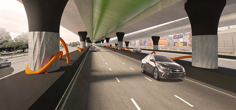 Westgate Tunnel EES: Footscray Road skyroad