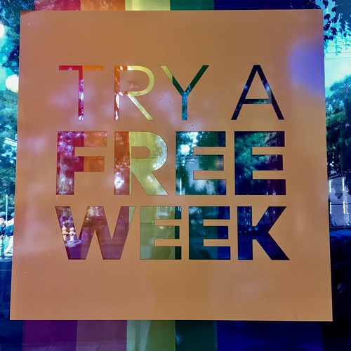 Try a free week | by jillbertini