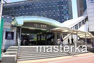 ゆりかもめの新橋駅