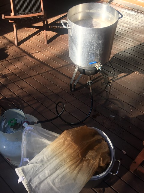 Brew day: Tiny bottom (variation) pale ale