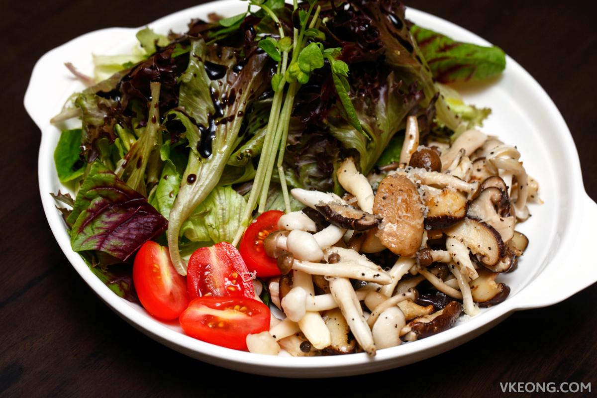 Table9 Bangsar Sauteed Mushroom Salad