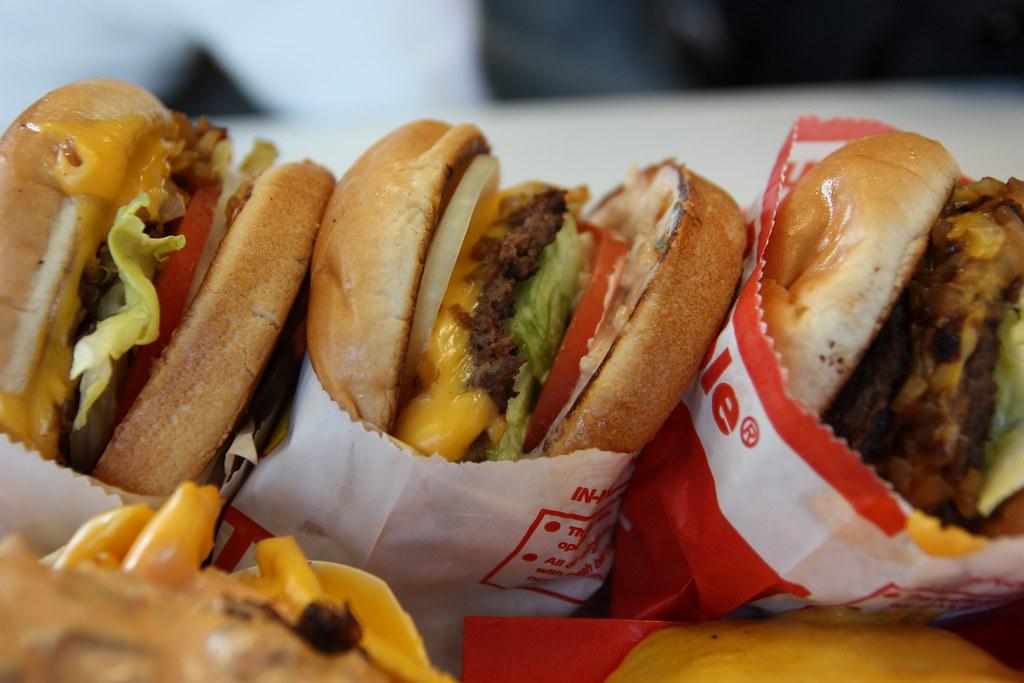 漢堡。Derek(CC BY-NC-ND 2.0)