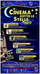 Locandina Cinema sotto le stelle 2017