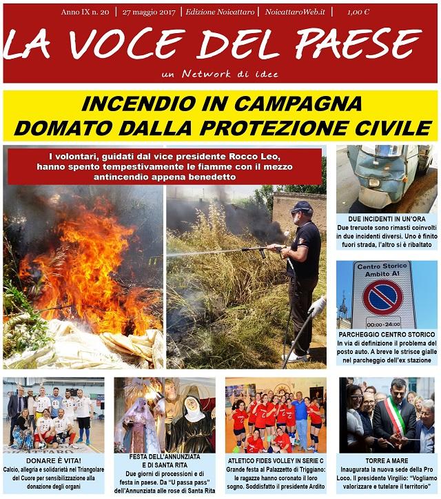 Noicattaro. Prima pagina n.20-2017 intero