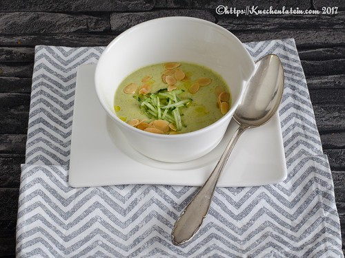 Chilled cucumber and almond soup (2)