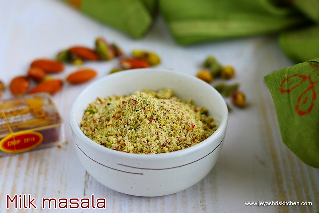 Milk-masala powder