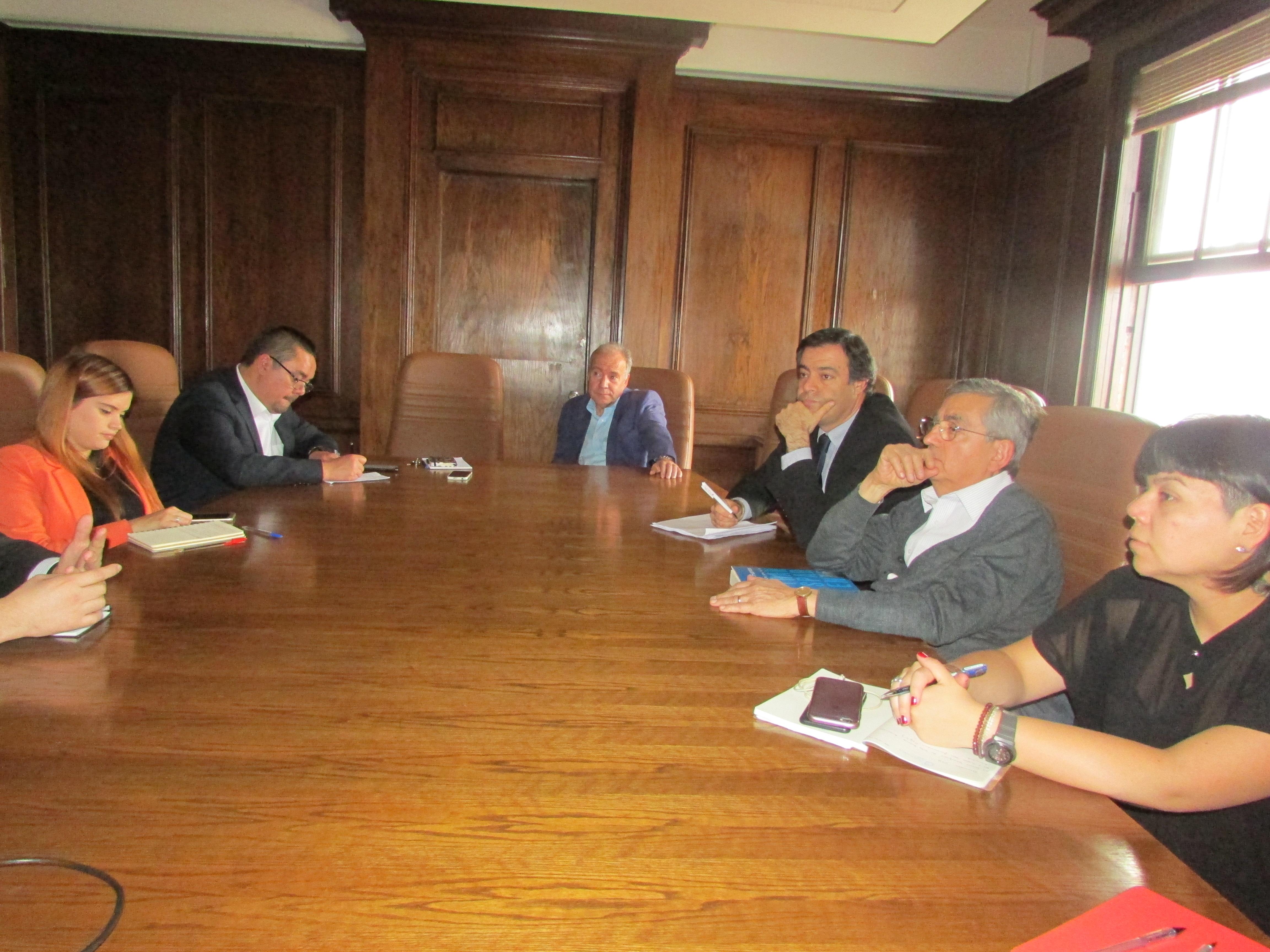 Reunión con Hacienda por procedimientos de Reclutamiento y Selección - 12 Abril 2017