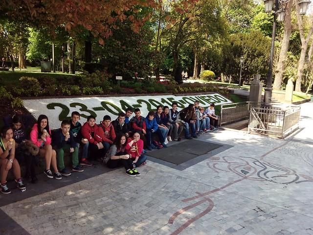 Viaje a Oviedo de 1º de ESO. Mayo 2015