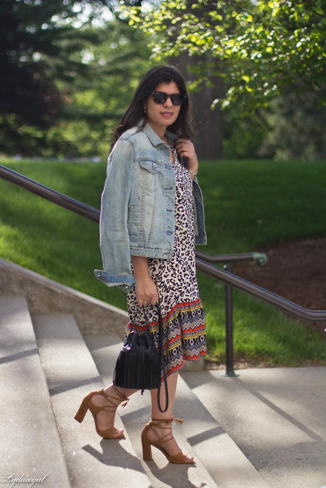 leopard print dress, denim jacket, moonstone jewelry-1.jpg