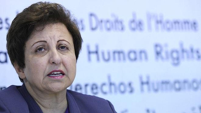 A szerző: Shirin Ebadi (fotó forrása: BBC)