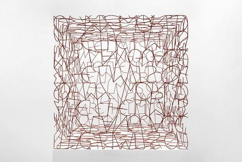 Tom Phillips_Wittgenstein's Cage
