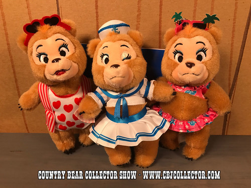2017 Tokyo Disneyland Sun Bonnets Vacation Jamboree Plush Set - Country Bear Collector Show #105