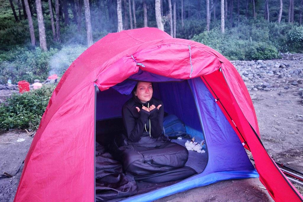Rinjani - Jour 3 - Lac Cratere - Lever Anais
