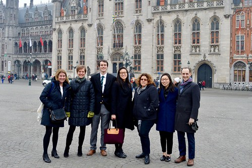 Fulbright Schuman Scholars in Bruges
