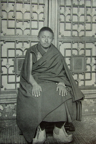 Thubten Choekyi Nyima, 9th Panchen Lama. From Wikimedia Commons