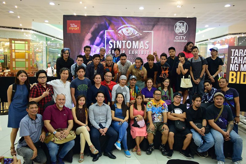 Sintomas artists group photo