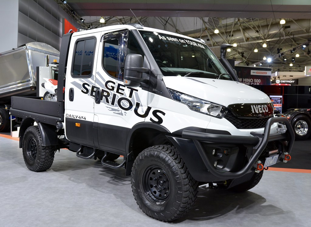 Iveco Daily 4X4 #53 | Brisbane truck show 2017 | Russell | Flickr