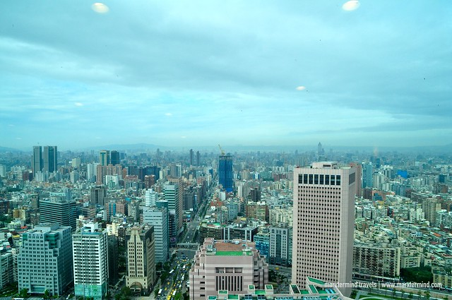View from Starbucks Taipei 101